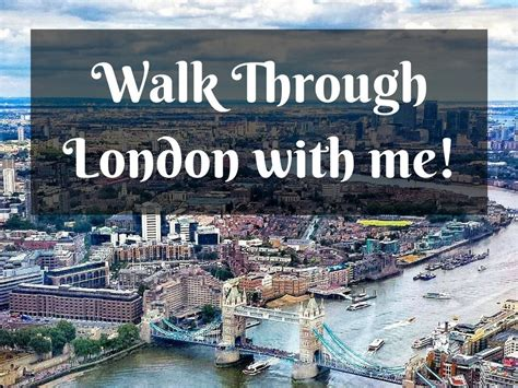 Walk Through London With Me Night Edition Solosophie