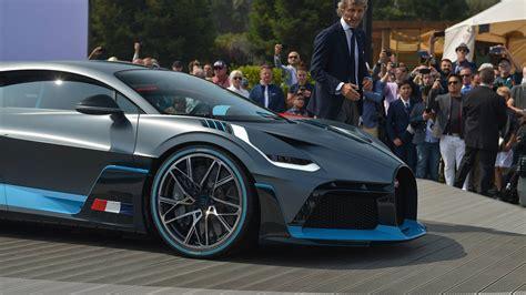 Bugatti Divo 2019  Presentazione Nuovi Modelli Auto