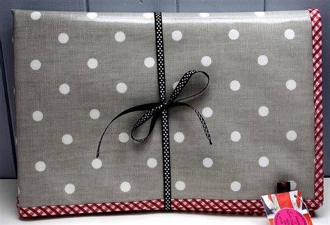 spotty doormat oilcloth spotty baby changing mat by lammie co