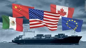 Trade war: EU, Mexico and Canada respond to US tariffs on ...