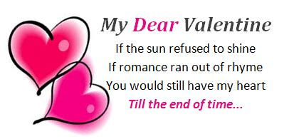 Romantic Valentine Day Poems