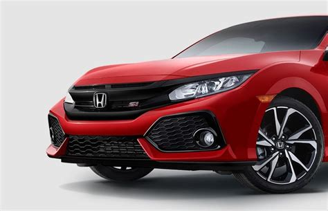 2018 Honda Civic Si Coupe Overview