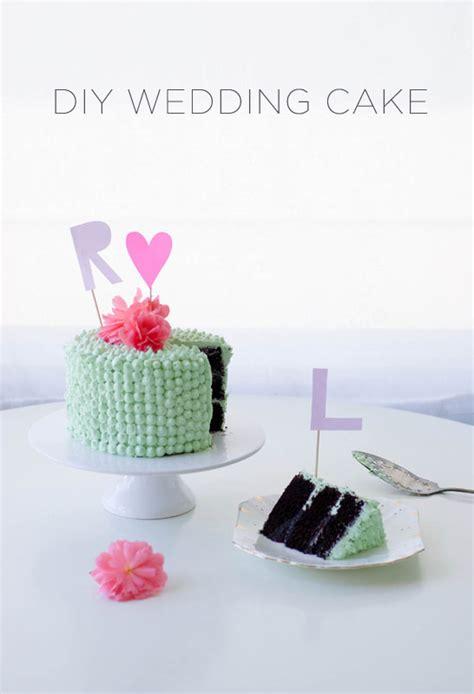 diy wedding cake monogram cake toppers coco cake land