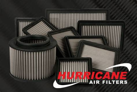 Hurricane Air Filters Help Engines Breathe Better