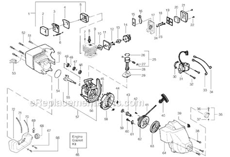 weed eater featherlite parts list  diagram type