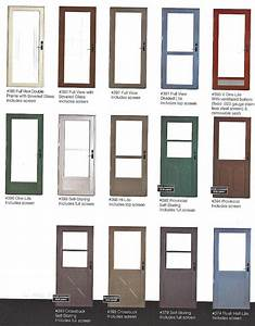 STORM DOOR, SCREEN DOOR, QUALITY, FULL VIEW,CROSS BUCK