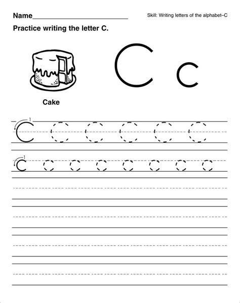 Best 25+ Letter C Worksheets Ideas On Pinterest  Letter K Words, Preschool Learning And Letter