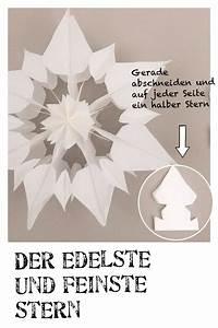Weihnachtsstern Selber Basteln : stern aus papier anleitung weihnachtsstern basteln ~ Lizthompson.info Haus und Dekorationen