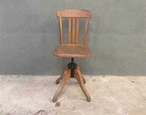 Chaise Bureau Vintage : chaise bureau stella pivotante ~ Teatrodelosmanantiales.com Idées de Décoration