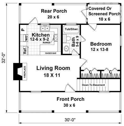 southern style house plan    bed  bath family house plans cabin floor plans
