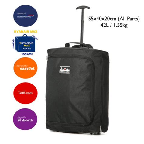 easyjet hand luggage  fits  size restrictions