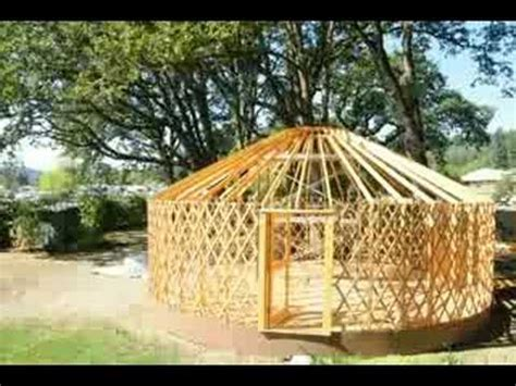 Time Lapse Of A Yurt Build