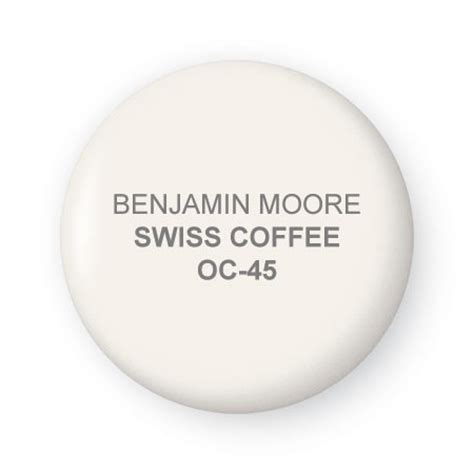 Order color swatches, find a paint store near you. Swiss Coffee For Home Decoration By Benjamin Moore - A Interior Design