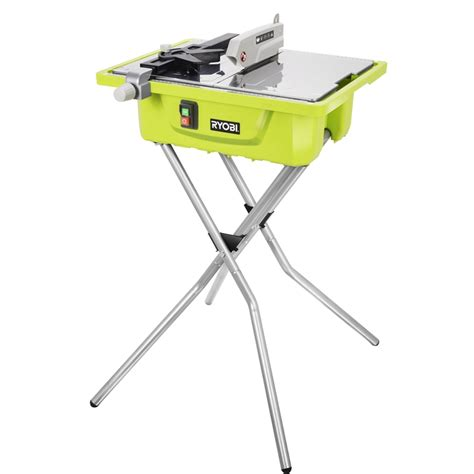 ryobi tile saw ryobi 500w 178mm tile cutter with folding stand