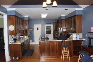 Soffit Above Cabinets by Kitchen Renovation Platinum Kitchens