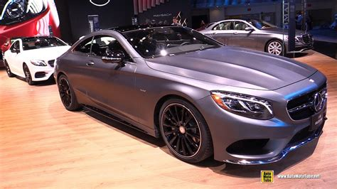 2018 Mercedes E400 Coupe And 2017 Mercedes S550 Coupe