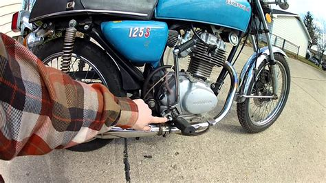 1976 honda cb125s in westerville ohio sold youtube