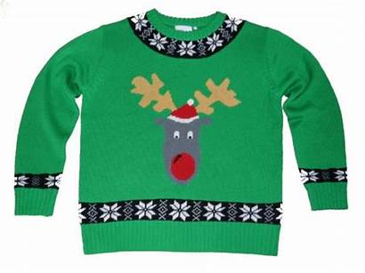 Sweater Ugly Christmas Clip Clipart Tacky Cardigan