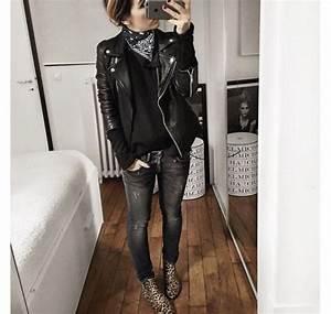 Vetement Femme Rock Chic : style rock chic femme hiver ~ Melissatoandfro.com Idées de Décoration