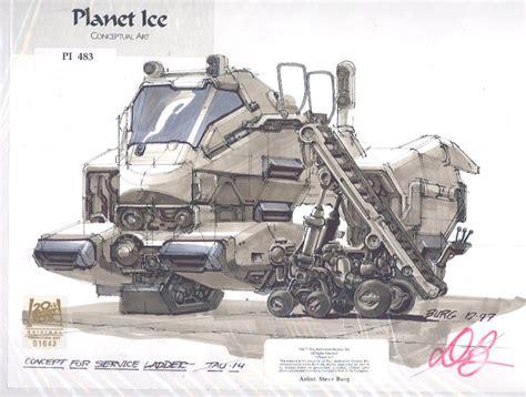 science fiction concept for titan a e by of ship and sea fuckyeahspaceship titan ae concept