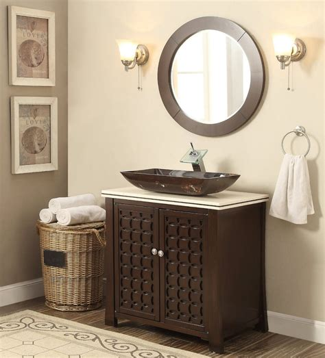 vessel sink giovanni bathroom vanity mirror hfa