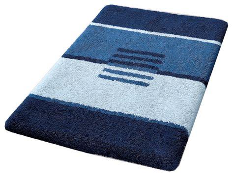 Modern Bathroom Rugs by Modern Non Slip Washable Bathroom Rug Blue Deco Modern