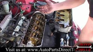 1994 Honda Civic Part 1  Valve Cover Gasket Repair