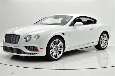 New 2017 Bentley Continental Gt W12 Coupe For Sale