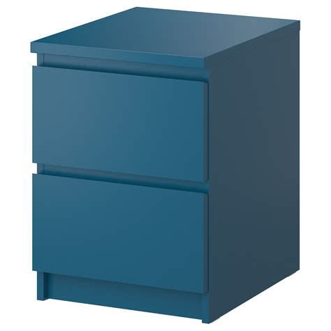 nib ikea malm stand malm chest with 2 drawers gray 15 7 8x21 5 8 quot ikea gray or turquoise night stand idea