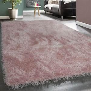 Hochflor Teppich Rosa : moderner wohnzimmer shaggy hochflor teppich soft garn in ~ A.2002-acura-tl-radio.info Haus und Dekorationen