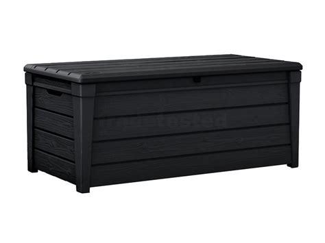keter brightwood outdoor storage box 454l storage boxes