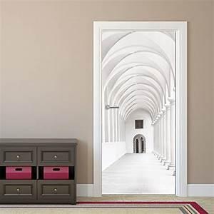 Papier Peint Pour Couloir : papier peint pour porte couloir passage arcade 92 x ~ Melissatoandfro.com Idées de Décoration