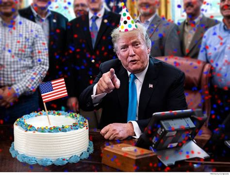 trump birthday president card happy sign campaign bday million he signatures him exclusive maga seeking country re