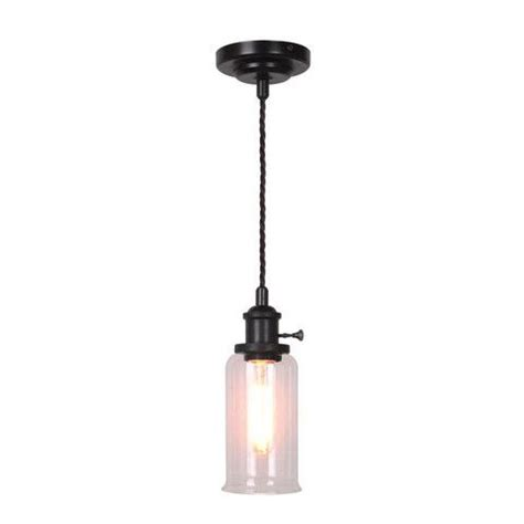 industrial glass shade mini pendant industrial lighting