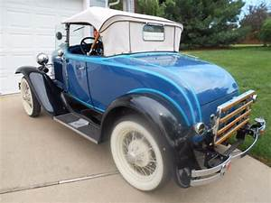 1931 Model A Deluxe Roadster  Restored