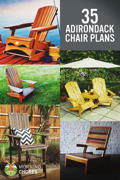 diy adirondack chair plans ideas  relaxing