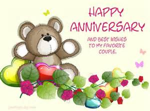 Free Halloween Ecards For Facebook by Happy Anniversary And Best Wishes To My Favorite Couple