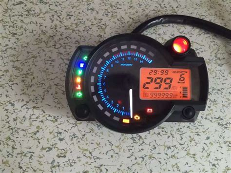 Adjustable Lcd Digital Universal Tachometer 2 Color