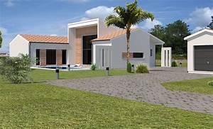 Belle Maison Moderne : belle maison moderne en gironde projet n 3 2 maisons ariane pinterest ~ Melissatoandfro.com Idées de Décoration