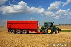 Traktor Mit Hänger : traktor mit h nger sticker pixers we live to change ~ Jslefanu.com Haus und Dekorationen