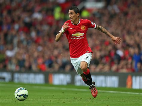 Manchester United High Definition Wallpapers Angel Di Maria Wallpapers High Resolution And Quality Download