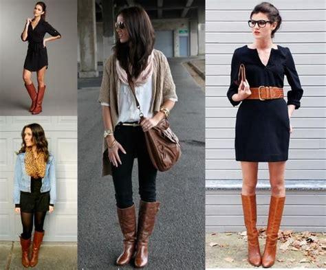 17 mejores ideas sobre Botas Cafes Mujer en Pinterest | Outfits con botas cafes Botas cafes y ...