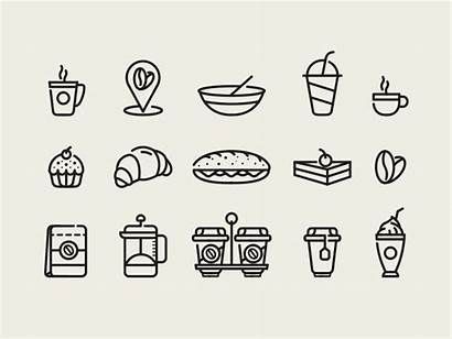 Cafe Coffee Icons Icon Vienna Series Dribbble