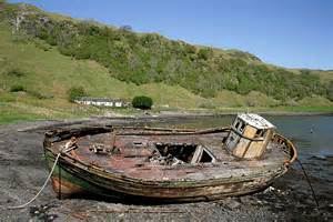 Old Boat No Title by An Old Fishing Boat At Kerrera 169 Walter Baxter Geograph