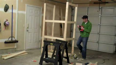 build  garage cabinet    minutes youtube
