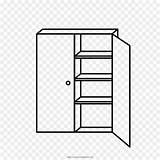 Armoire Template Coloring sketch template