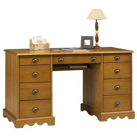 bureau ministre pin miel de style anglais beaux meubles pas chers
