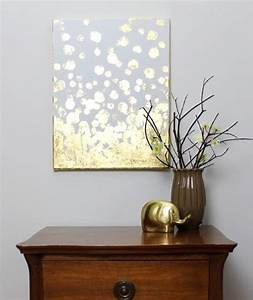 Gold leafed diy projects that sparkle with elegance
