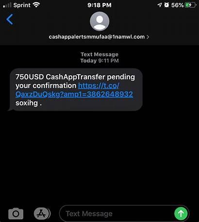 App Cash Message Apple Scam Messages Transfer