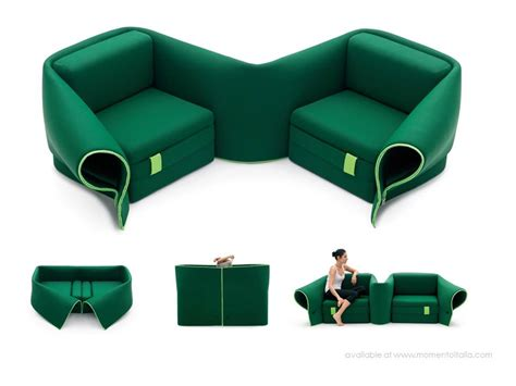 Armchair Sofa Bed Single by Italian Multifunctional Furniture Living In A Shoebox